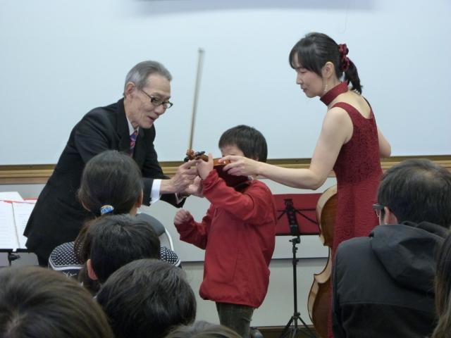 バイオリン体験